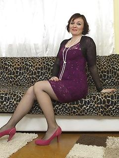 Hairy Stockings Pics