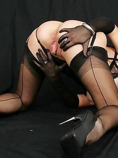Masturbation Stockings Pics