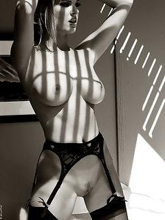 Suspenders Stockings Pics