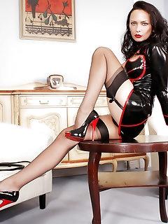 Latex Stockings Pics