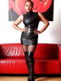 Ebony Stockings Pics