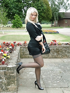 Outdoor Stockings Pics