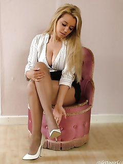 Stunning Stockings Pics